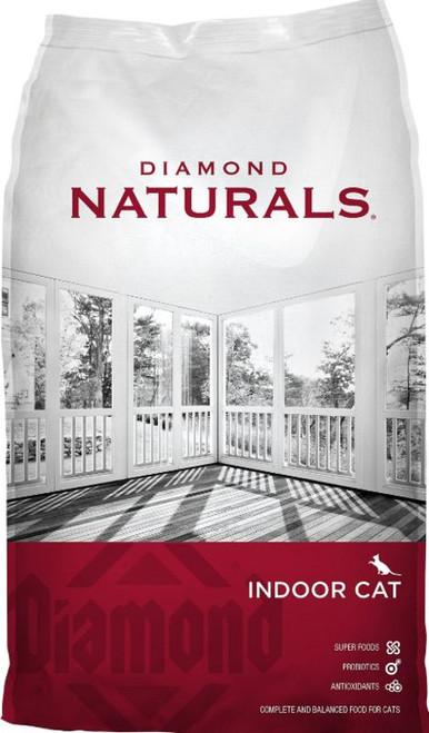 Diamond Naturals Indoor Formula Dry Cat Food - 18LBS