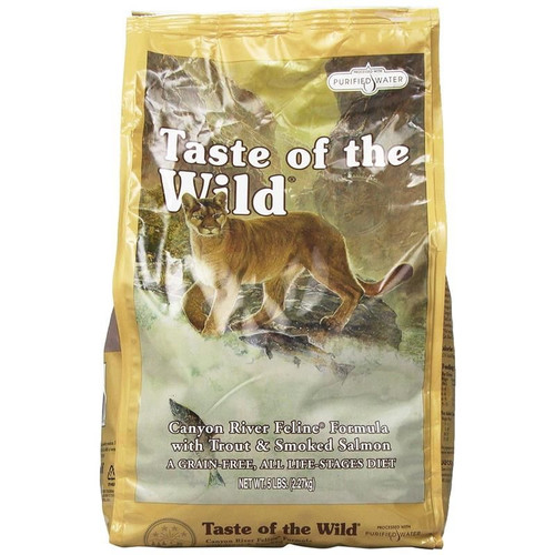 Taste of the Wild Canyon River Feline Formula with Trout & Smok