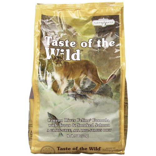 Taste of the Wild® Canyon River Feline Formula with Trout &