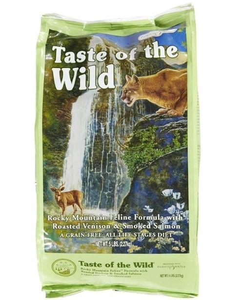 Taste of the Wild Rocky Mountain Feline Formula with Roasted Ve