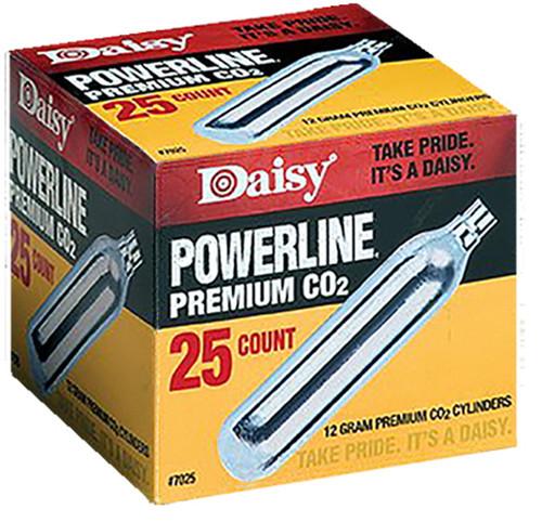 Daisy Powerline Premium 15pk CO2 Cylinders