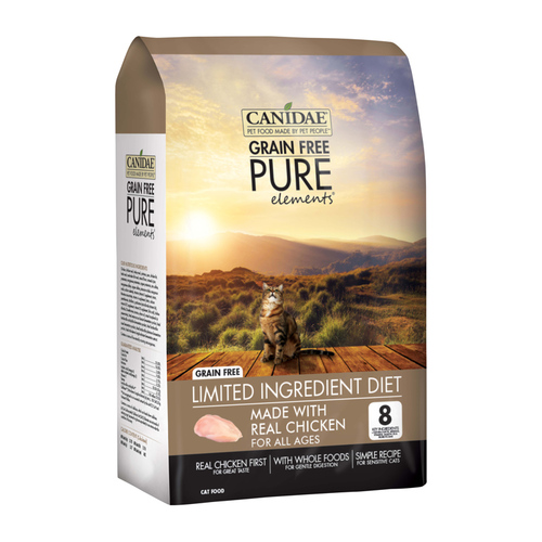 Canidae Grain-Free PURE Elements with Chicken Limited Ingredient Diet Dry Cat Food - 5 lb. Bag