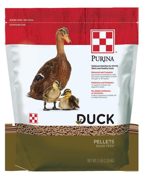 Purina Duck Feed Pellets - 5 lbs
