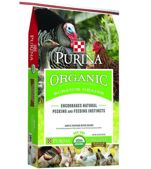 Purina Organic Scratch Grains - 35 lb.