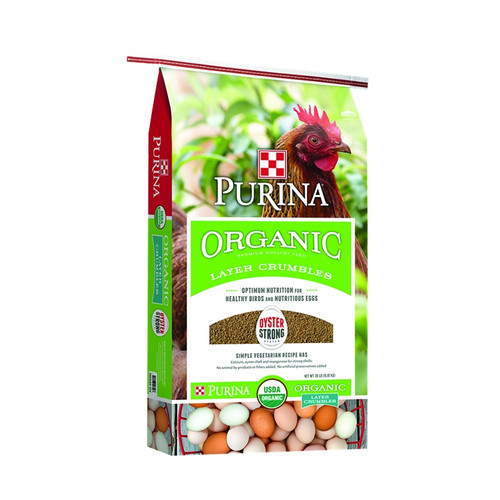 Purina Organic Layer Crumbles - 35 lb.