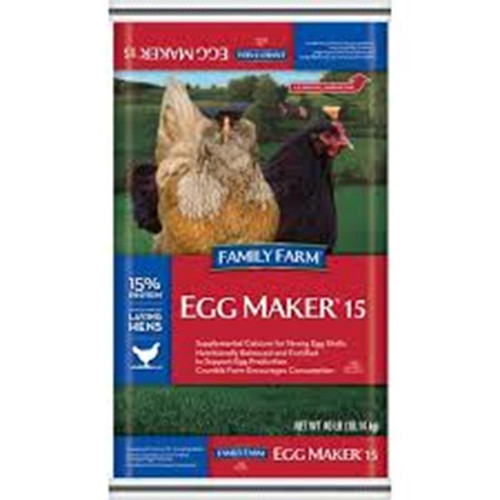 Manna Pro FF Egg Maker 16% Crumbles (Available for In Store Pick Up ONLY)