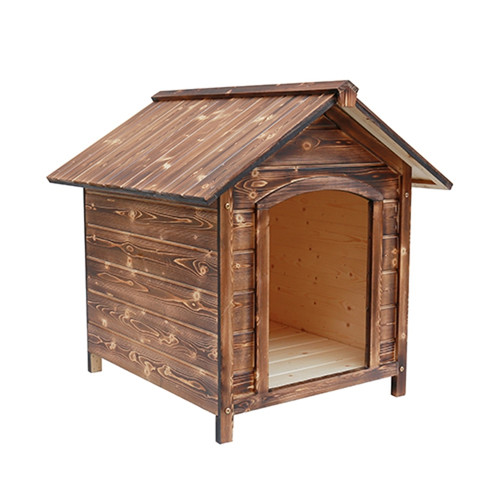 Forcome Rustic Wood Dog House