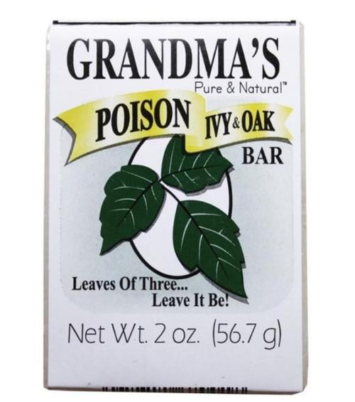 Grandma's Pure & Natural Poison Ivy & Oak Soap Bar - 2.2 oz.