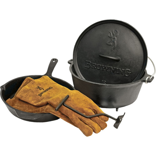 Camp Chef - Browning Cast Iron Set