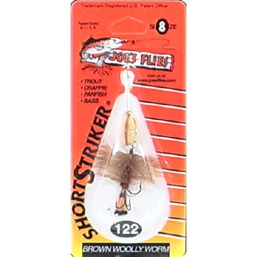 Joe's Flies - Joe's Flies  inchBrown Wooly Worm inch