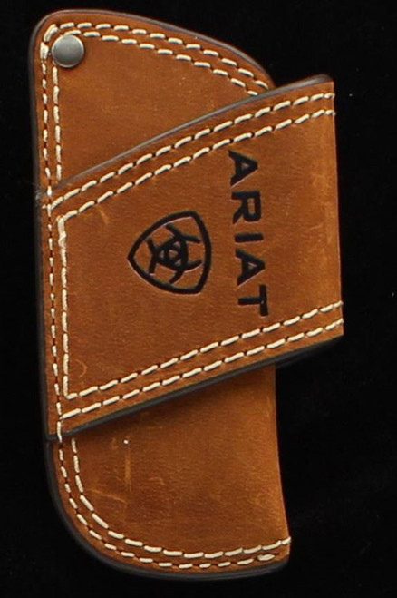 Ariat Leather Knife Sheath,Brown
