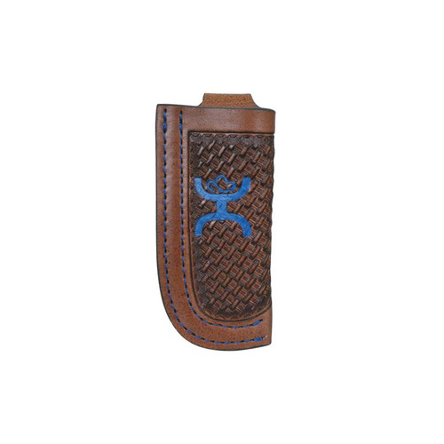 Trenditions- Hooey Signature Knife Sheeth- Blue