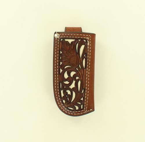 M&F Western - Tan With Ivory Accent Knife Sheath