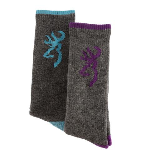 Browning Womens Rowan Wool Socks - 2 Pack