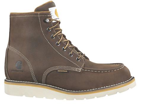 """Carhartt - Mens 6"""" Wedge Waterproof Steel Toe Work Boot"""