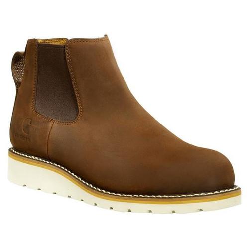 "Carhartt Mens 5"" Wedge Chelsea Steel Toe Boots"