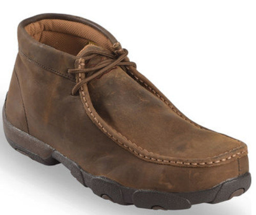 Twisted X - Mens Steel Toe Driving Mocs Work Shoes