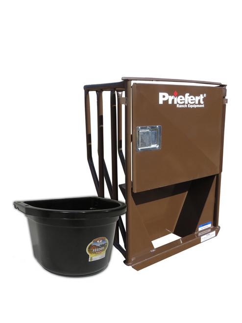 Priefert Premier Horse Stall Feeder