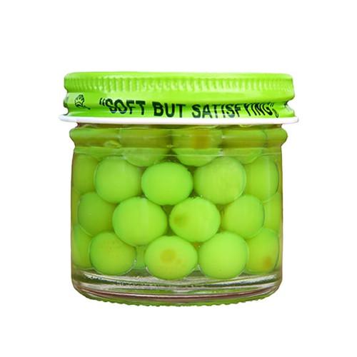 Pautzke Bait Balls O' Fire Salmon Eggs- Chartreuse Garlic