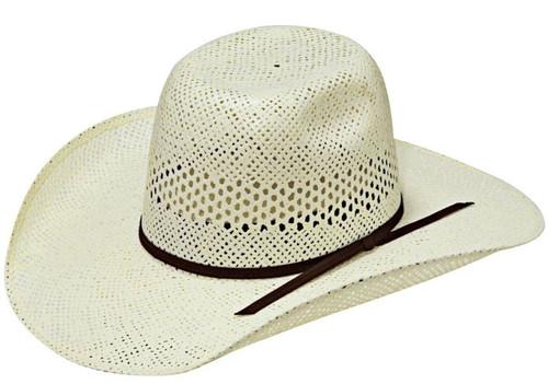 M&F Twister Youth Straw Hat- Ivory