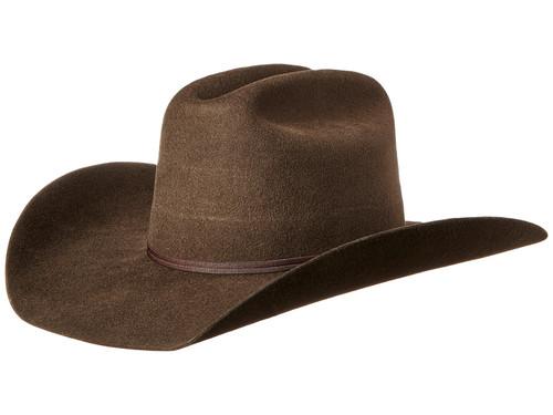 M&F Western - Twister Brown Wool Cowboy Hat