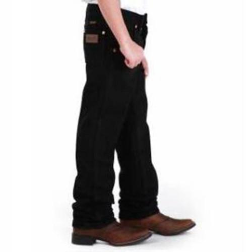 Wrangler - Boys Prewashed Cowboy Cut Original Fit Jeans - Black