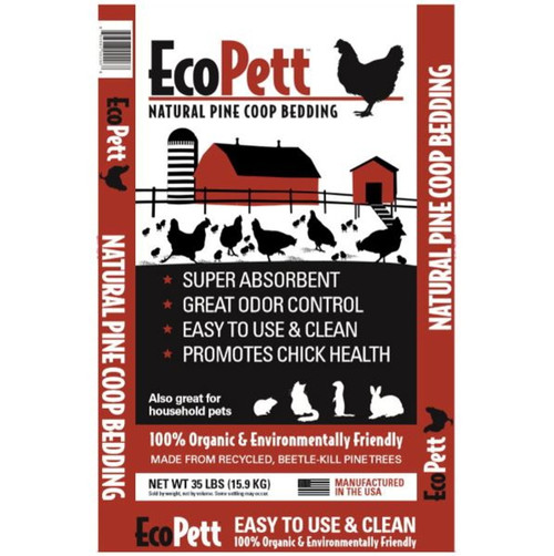 EcoPett Natural Pine Coop Bedding