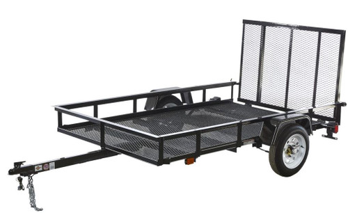 Carry-On 5X8G 2000 lb. GVWR Mesh Floor Trailers