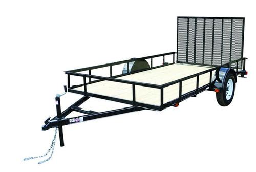 Carry-On 6X10GW 2990 lb. GVWR Wood Floor Trailer