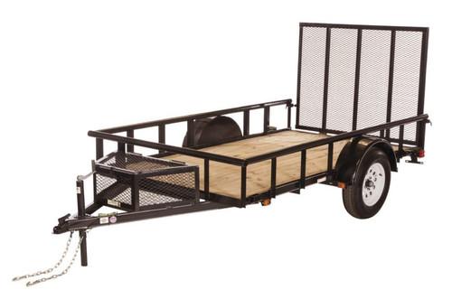 Carry-On 6X12GWPTLED 2990 lb. GVWR Wood Floor Trailer
