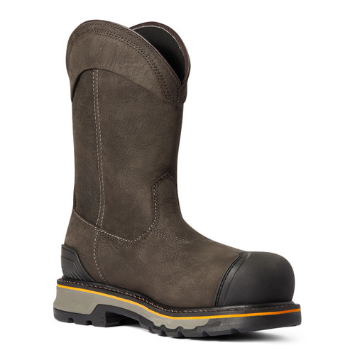 Ariat Mens Stump Jumper Pull-On H2O Pullon Work Boots