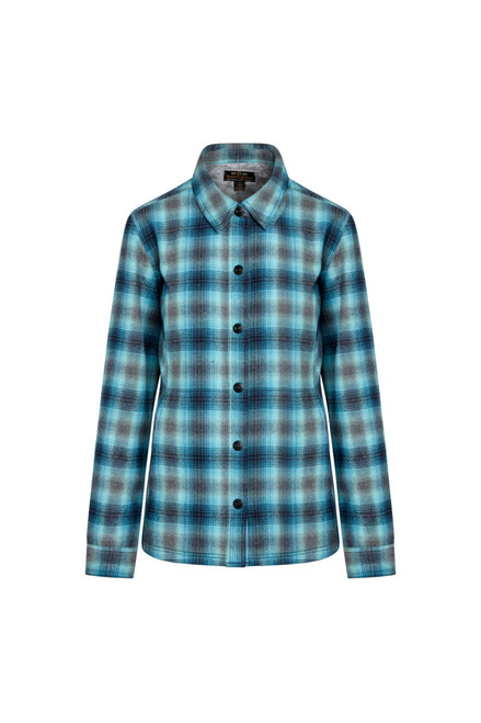 Noble Outfitters Womens Plaid Shirt Jacket