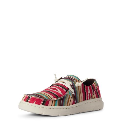 Ariat Womens Hilo Pastel Serape Casual Shoes