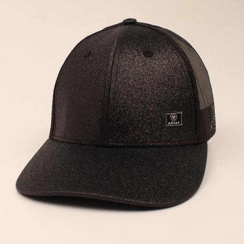 Ariat Ladies Black Glitter Cap