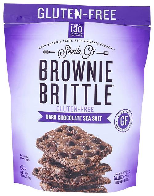 Sheila G's Brownie Brittle Dark Chocolate Sea Salt- 5oz