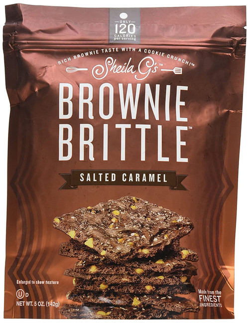 Sheila G's Brownie Brittle Salted Caramel- 5oz
