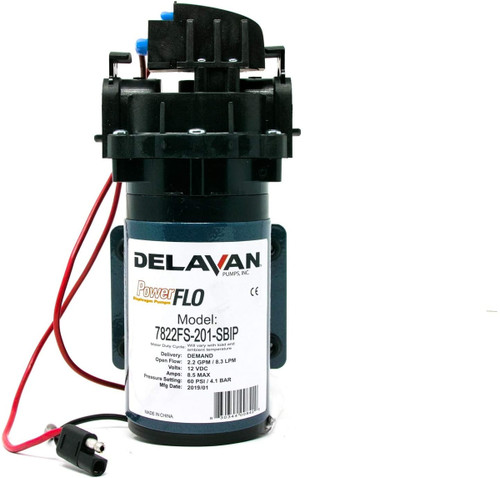 Delavan I Series 12 Volt Electric 60 PSI 2.2 GPM Bypass