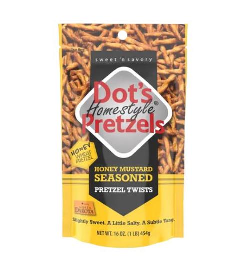 Dot's Homestyle Pretzels- Honey Mustard Seasoned 16oz