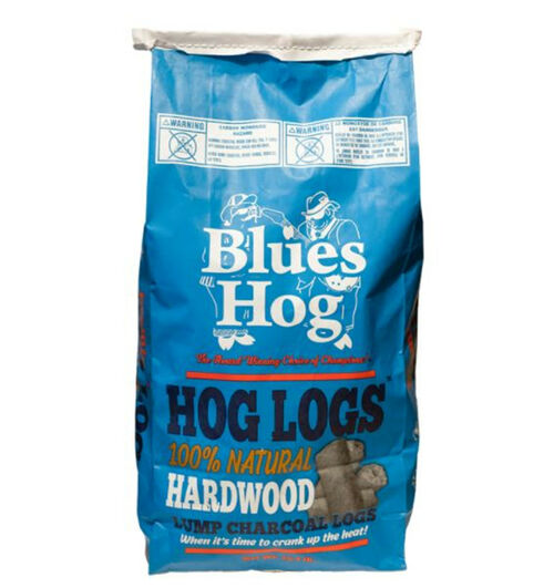 Blues Hog Hog Logs All Natural Hardwood Lump Charcoal- 15LB