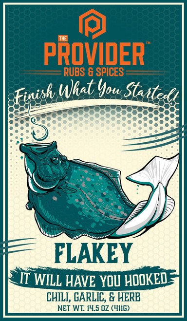 Provider Rubs & Spices- Flakey
