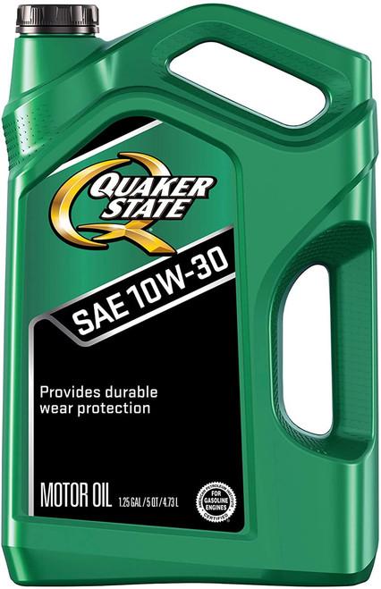 Quaker State Conventional Motor Oil 10W-30- 5 Quart