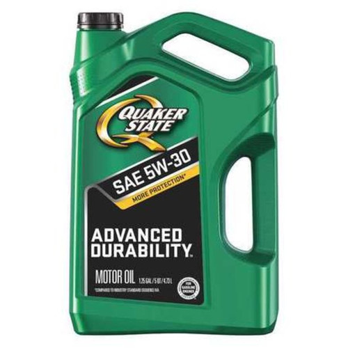 Quaker State Conventional Advanced Durability Engine Oil 5W-30 5 Quart Jug