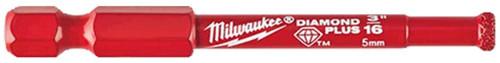 """Milwaukee Diamond Plus 3/16"""" Hole Saw"""