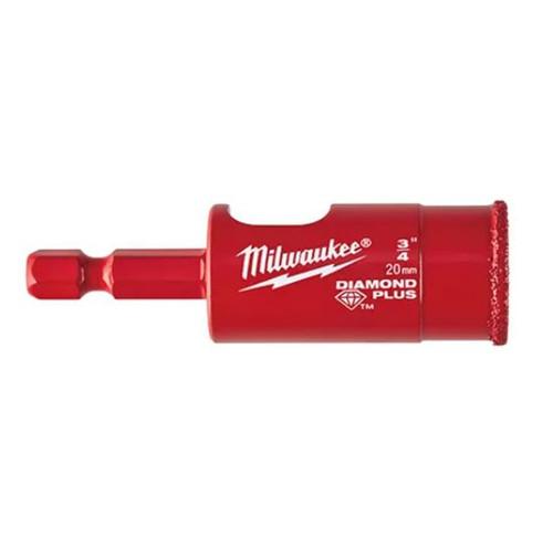 """Milwaukee Diamond Plus 3/4"""" Hole Saw"""
