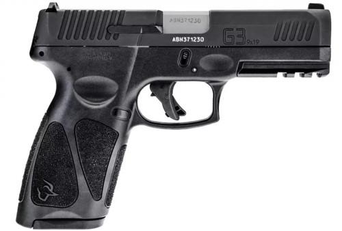 Taurus G3 9mm Pistol All Black- 17 Round