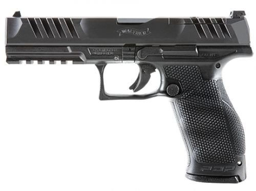 Walther Arms PDP Full-Size 9mm 18 Round Optic Ready- Black