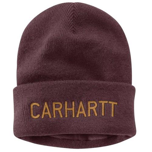 Carhartt Knit Fleece Lined Graphic Beanie