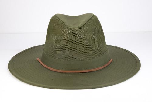 Jacob Ash - Olive Cowboy Fashion Hat