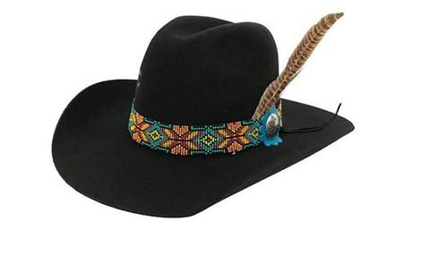 Charlie 1 Horse Womens Gold Digger Felt Hat Black