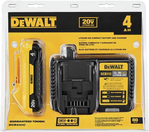 DeWALT 20V Max Battery Compact Starter Kit